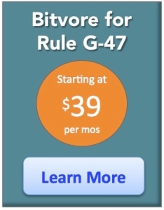 Learn About Bitvore for Rule G-47